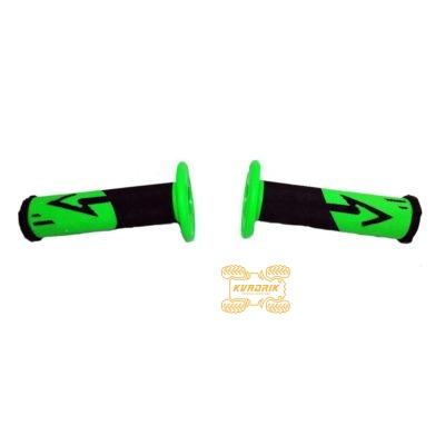 Ручки для квадроцикла (для рулей диаметром 22мм) X-ATV цвет зеленый