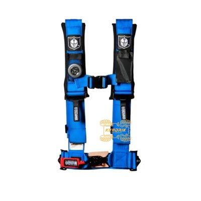 "Ремни безопасности для багги, авто 4-х точечные 3"" Proarmor (синий)"