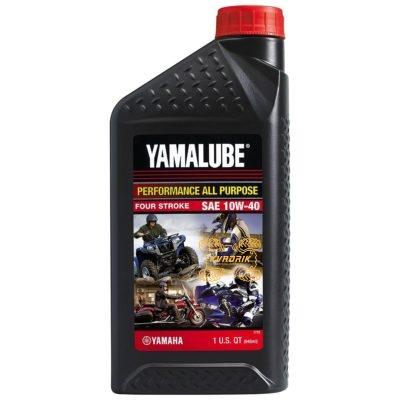 Оригинальное, высокоэффективное минеральное масло Yamalube для 4-тактных двигателей       LUB-10W40-AP-12