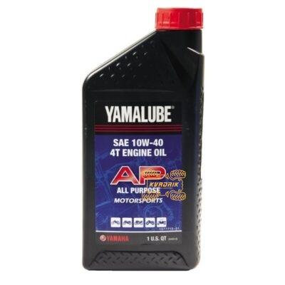 Оригинальное минеральное масло Yamalube для 4-тактных двигателей LUB-10W40-AP-12 ACC-11000-49-02