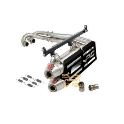 Комплектный выхлоп (два глушителя) Pro Circuit для багги Polaris RZR 900 (13-14)        18300385