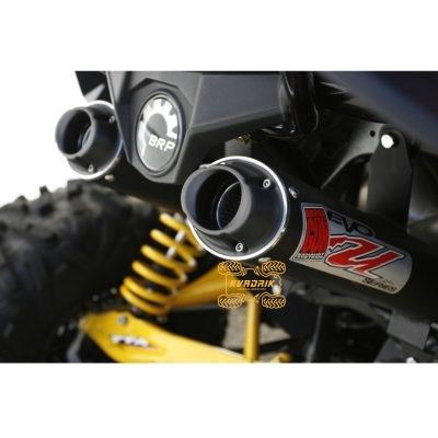 Комплектный выхлоп (два глушителя) Big Gun для квадроциклов  Can Am Maverick 1000 (2013-18) EVO UTILITY 3/4      12-6943