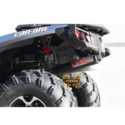 Глушитель Big Gun для квадроциклов Can-Am Outlander 570/650/800R/850 XT/1000XT/XMR (12-16) EVO UTILITY Slip On     12-6852