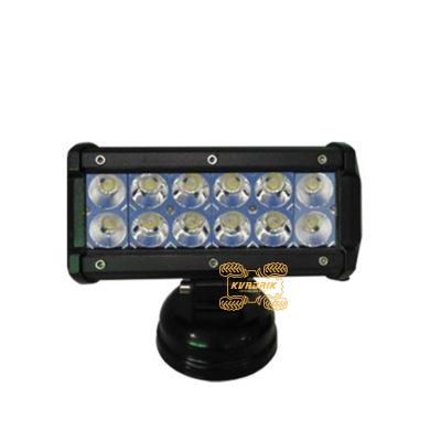 Фара, прожектор для квадроцикла Titanium E032  36W  170х110х65мм ближний свет
