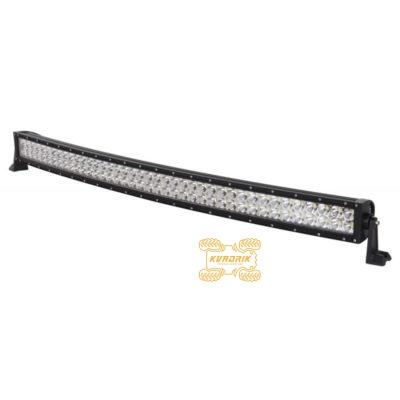 Изогнутая LED-балка, прожектор, фара для багги, UTV, внедорожника - ExtremeLED E006V 240W 114см ближний + дальний свет (Копировать)