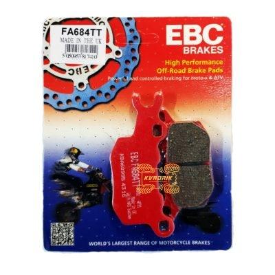 Тормозные колодки задние правые EBC FA684TT для багги  Can Am Defender (16-), Traxter (16-)         715900382