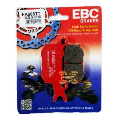 Тормозные колодки задние левые EBC FA685TT для багги  Can Am Defender (16-), Traxter (16-)         715900381