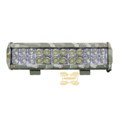 Фара, прожектор, камуфляжная светодиодная балка для квадроцикла ExtremeLED E033 72W 31см дальний + ближний свет