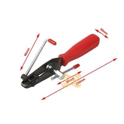 Инструмент для затяжки и обрезки ленточных хомутов