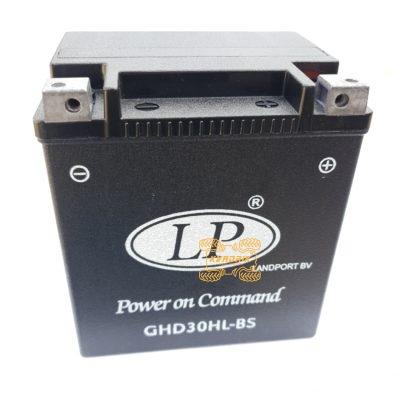 Аккумулятор Landport GHD30HL-BS 12V 30AH 166X130X175 гелевый
