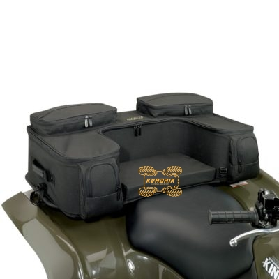 Кофр для квадроцикла Moose OZARK REAR RACK BAGS черный (94x50x24)   3505-0121