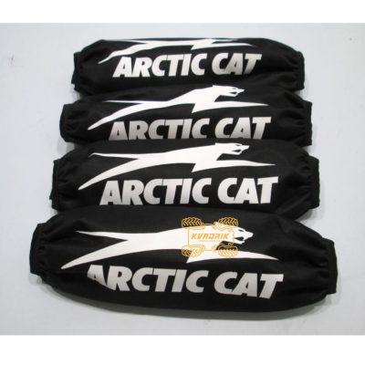 Чехлы амортизаторов для квадроциклов Arctic Cat цвет черный