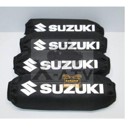 Чехлы амортизаторов для квадроциклов Suzuki цвет черный