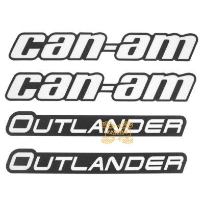 Оригинальный комплект наклеек на расширители арок Can-Am Outlander  704903498