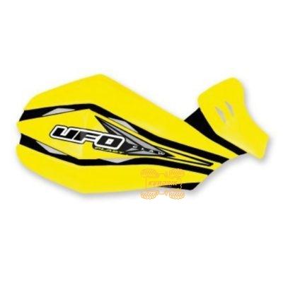 Защита рук для квадроцикла UFO Claw с креплением. Цвет желтый  PM01640102