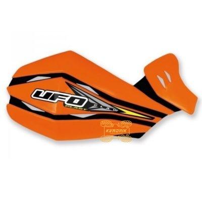 Защита рук для квадроцикла UFO Claw с креплением. Цвет оранжевый  PM01640127