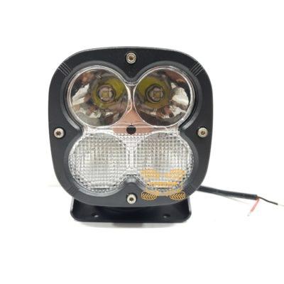 Фара ExtremeLED P0240C  110x110x93mm  40w CREE LED XM-L комбинированный (одновременный дальний+ближний) свет
