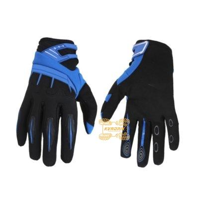 Перчатки летние Spectrum черно-синие размер XL