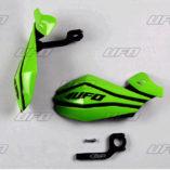 Защита рук для квадроцикла UFO Claw с креплением. Цвет зеленый  PM01640026
