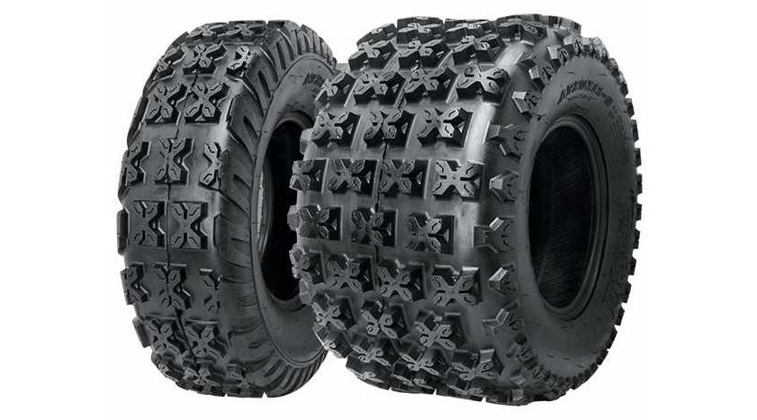 Представляем вам новые спортивные шины в 8, 9 и 10 диаметрах для заднеприводных квадроциклов