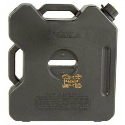 Канистра GKA экспедиционная 12л, цвет черный для квадроцикла или внедорожника
