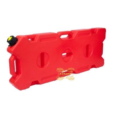 Канистра GKA экспедиционная 15л, цвет красный для квадроцикла или внедорожника