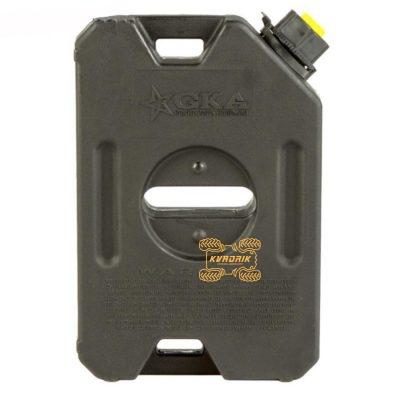 Канистра GKA экспедиционная 4л, цвет черный для квадроцикла или внедорожника