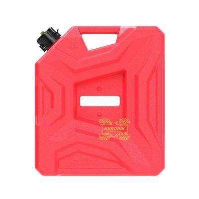 Канистра Tesseract экспедиционная 10л, цвет красный для квадроцикла или внедорожника