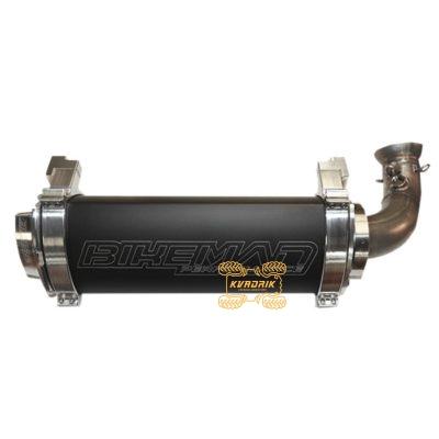 Глушитель BMP Bare Stainless для багги Polaris RZR 1000 RS1 (18+)   18310753