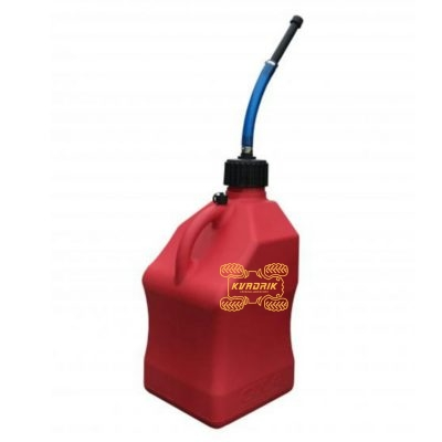 Канистра GKA Racing экспедиционная 20л, цвет красный для квадроцикла или внедорожника
