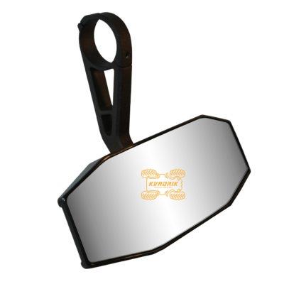 Центральное зеркало заднего вида Moose Mirror UTV Rear View подходит на каркас толщиной от 1,5 до 1,75 дюйма   01141  0640-1190