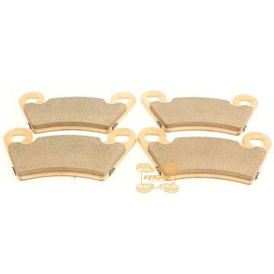 Оригинальные тормозные колодки (комплект на два тормозных диска) для квадроцикла POLARIS RZR 800 900; Scrambler 1000; Polaris Sportsman 900 570 325; Ranger 900 700 500 400   2202413, 1910514, 2202097