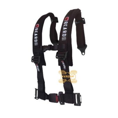 """Ремни безопасности для багги, авто 4-х точечные 2"""" Beard (черный)   4510-0551   880-220-02"""