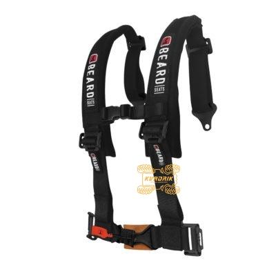 """Ремни безопасности для багги, авто 5-ти точечные 2"""" Beard (черный)   4510-0552   880-220-01"""