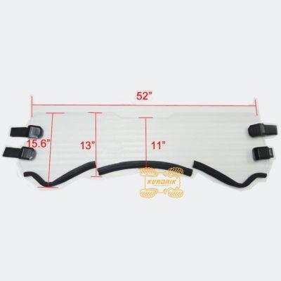 Ветровое стекло-половинка для UTV Can-am Maverick 1000R