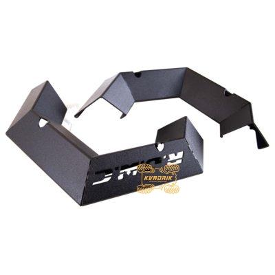 Накладки металлические бампера (клыки бампера) RJWC для квадроцикла Can Am Outlander 500-1000 G2 (2012+)   1121