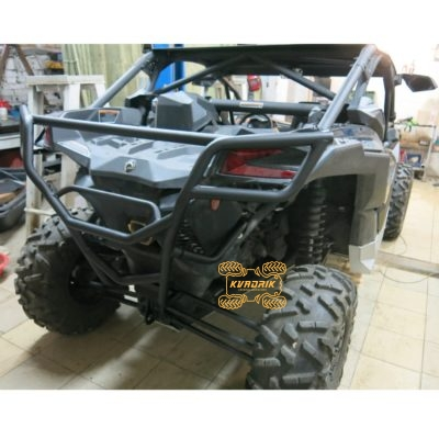 Кенгурятник задний Rival для багги Can-Am Maverick X3 XDS, XRS Turbo R (16+)  2444.7244.1