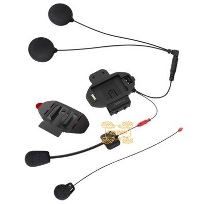 Монтажный комплект Sena подключения второго шлема (база) для интеркомов SF1, SF2 и SF4 с универсальным набором микрофона и наушников  SF-A0202