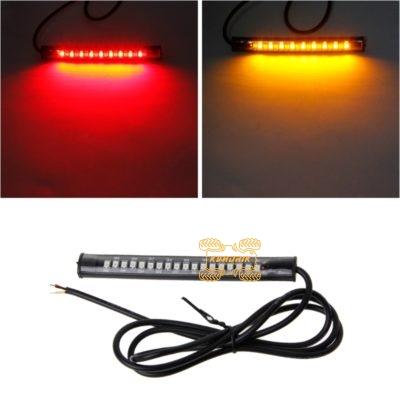 Светодиодная лента LED-STRIP (красный + оранжевый цвет)