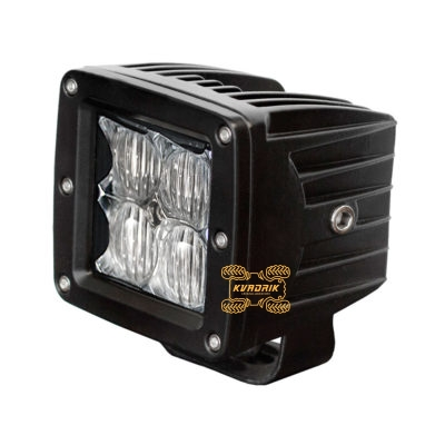 LED прожектор, фара для квадроцикла - Shark Led Work Light 16W 8см комбинированный (одновремененно ближний + дальний) свет  810-5016-4