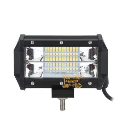 LED прожектор, фара для квадроцикла - LED-C4-72 72W 13см ближний + дальний свет