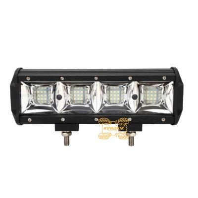 LED прожектор, фара для квадроцикла - LED-C7-108 108W 24см ближний + дальний свет C7-108W-Spot