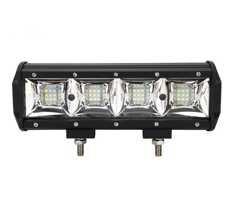 LED прожектор, фара для квадроцикла — LED-C7-108 108W 24см (широкий луч света)
