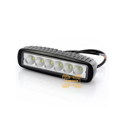 LED прожектор, фара для квадроцикла - L0097S 18W 16см дальний свет