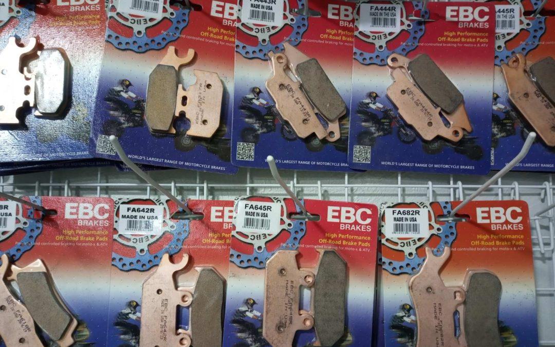 Новые синтетические тормозные колодки  фирмы EBC уже на складе!