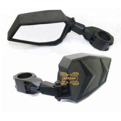 Боковые зеркала X-ATV для багги Polaris подходит на каркас толщиной 1,75 дюйма.