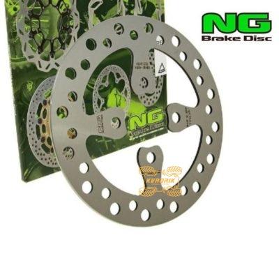 Тормозной диск задний NG Brakes для квадроцикла Yamaha Raptor YFM 700 (06-14), YFZ 450 (06-14)  NG1059, 1S3-2582W-10-00