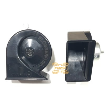 Звуковые сигналы Flosser (пара) высокая и низкая тональность 12 В  129206
