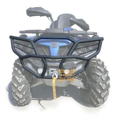 Кенгурятник передний Rival для квадроциклов CFMoto X5 H.O (2015+), X6 (2019+) 444.6847.1