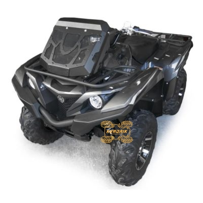 Вынос радиатора с комплектом шноркелей Rival для квадроцикла Yamaha Grizzly 700 (2016+), Kodiak 700 (2016+)   444.7150.1